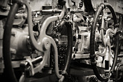 Internal Mechanics Uss Bowfin Print by Douglas Barnard