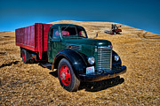 Roling Prints - International Farm Truck Print by Paul DeRocker