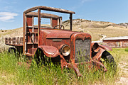 Bannack State Park Framed Prints - International Truck Framed Print by Sue Smith