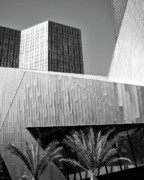 Vdara Prints - INTERSECTION 2 BW Las Vegas Print by William Dey