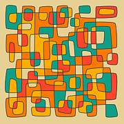 Intersections Print by Jazzberry Blue