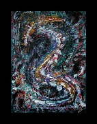 Universal Painting Posters - Into Eternity Poster by Mimulux patricia no