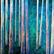 Into The Forest Print by Heather Matthews