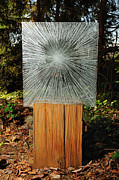 Spiritual  Glass Art - Into the Light by Rick Silas
