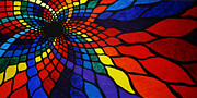 Prismatic Painting Originals - Into the Void by Sean Ward