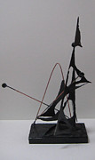Nautical Sculptures - Into the Wind by Elizabeth Steel