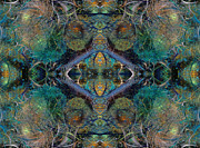 Fractal World Posters - Intrigue of Mystery One of Four Poster by Betsy A Cutler East Coast Barrier Islands