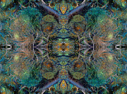 Fractal World Prints - Intrigue of Mystery Three of Four Print by Betsy A Cutler East Coast Barrier Islands