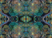 Fractal World Posters - Intrigue of Mystery Two of Four Poster by Betsy A Cutler East Coast Barrier Islands