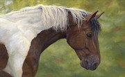 Intrigued Print by Lucie Bilodeau