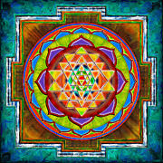 Believe Digital Art Prints - Intuition Sri Yantra II Print by Dirk Czarnota