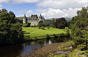 Flag Stone Framed Prints - Inveraray Castle - D002464 Framed Print by Daniel Dempster