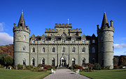 Campbell Clan Framed Prints - Inveraray Castle Framed Print by Maria Gaellman