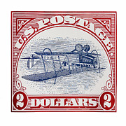 United States Postage Posters - Inverted Jenny Poster by Jon Burch Photography