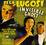 Helen Digital Art Posters - Invisible Ghost Poster by Monogram Pictures