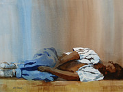 Homeless Paintings - Invisible Man by Kris Parins