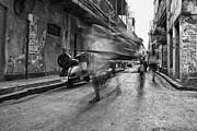 Invisible Rickshaw Puller Print by Soumya Shankar Ghosal