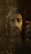 Shroud Digital Art - iPhone Shroud of Turin and Jesus by Ray Downing