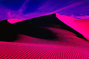 Photo-manipulation Photo Posters - IR Dune 1 Poster by ABeautifulSky  Photography