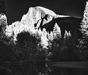 Canon Rebel Posters - IR Half Dome Poster by Guy Ivie