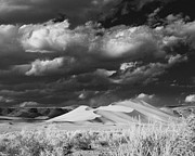Canon Rebel Framed Prints - IR Storm Over Sand Mountain II Framed Print by Guy Ivie