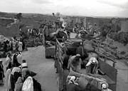 Iraq Al Manshiyya Evacuation 1948 Print by Munir Alawi