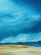 Sand Dunes Paintings - Ireland by Conor Murphy