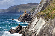 Ireland - Dingle Coast Print by Juergen Klust