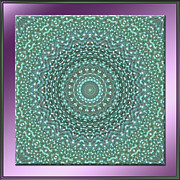 Mandala Photos - Iridescence by Michele Kaiser