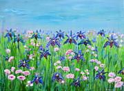 Regina Valluzzi - Iris Garden