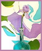 Iris Identity Print by Marsha Heiken