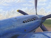 Spitfire Painting Prints - Iris Print by Pib