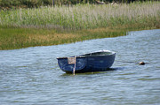 Ladys Island Photos - Irish Blue Boat 3 by Carol Lynch