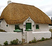 Country Cottage Photo Originals - Irish Cottage by Frances Hodgkins
