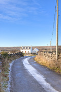 Inishmore Prints - Irish Cottage on The Aran Islands Print by Mark E Tisdale