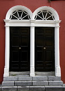 Irish Double Doors Print by Christiane Schulze