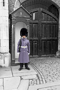 Arm Guard Prints - Irish Guard at St James Palace in London Print by Philip Pound