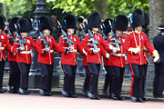 Festivals - Irish Guards on the March by James Brunker