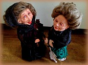 Old Sculptures - Irish Ladies by TriyaandNora Sculpts