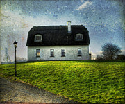 Irish Thatched Roofed Home Print by Juli Scalzi