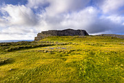 Inishmore Prints - Iron Age Ruins of Dun Aengus on The Irish Coast Print by Mark E Tisdale