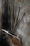 Concrete And Iron Posters - Iron Brush And Wall Poster by Viktor Savchenko