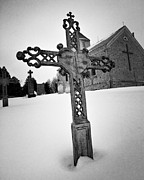 Cross Photo Metal Prints - Iron Cross Metal Print by Jeff Klingler