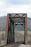 Natural Bridge Station Framed Prints - Iron Horse Trestle Framed Print by Brenda Dorman