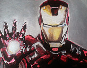 Paul Mitchell Acrylic Prints - Iron Man Acrylic Print by Paul Mitchell