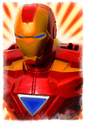 Comic. Marvel Photos - Iron Man by Ricky Barnard