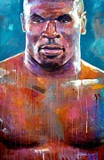 Iron Mike Print by Robert Phelps