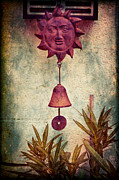 Silvia Ganora Art - Iron sun with bell by Silvia Ganora
