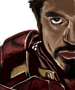 Ironman Digital Art Posters - Ironman Poster by Jamie Bishop