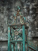 Ironwork In The Quarter Print by Brenda Bryant